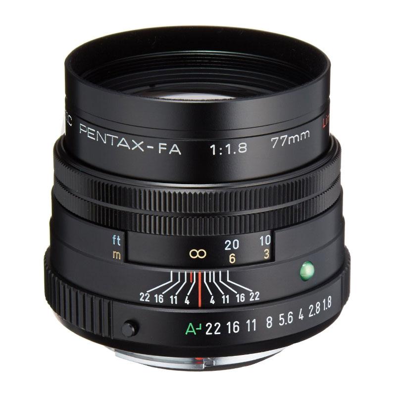 【キャッシュレス5%還元対象店】PENTAX (ペンタックス) smc PENTAX-FA 77mm F1.8 Limited ブラック 中望遠単焦点レンズ