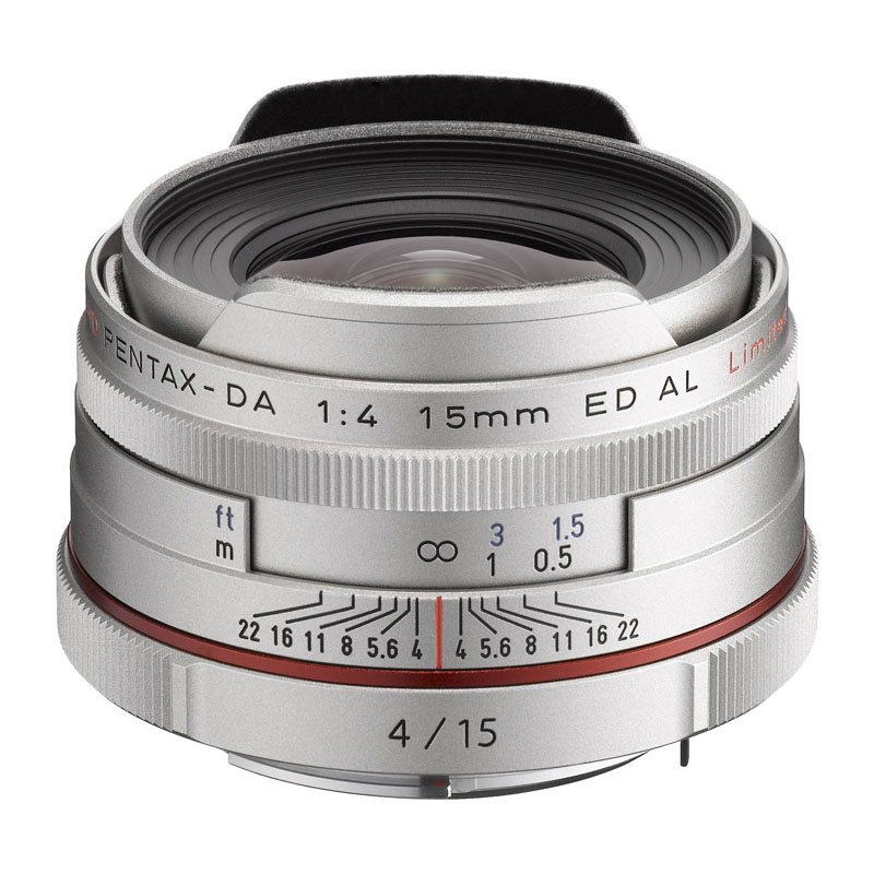 PENTAX (ペンタックス) HD PENTAX-DA 15mm F4 ED AL Limited シルバー 超広角単焦点レンズ