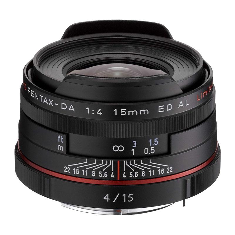 PENTAX (ペンタックス) HD PENTAX-DA 15mm F4 ED AL Limited ブラック 超広角単焦点レンズ