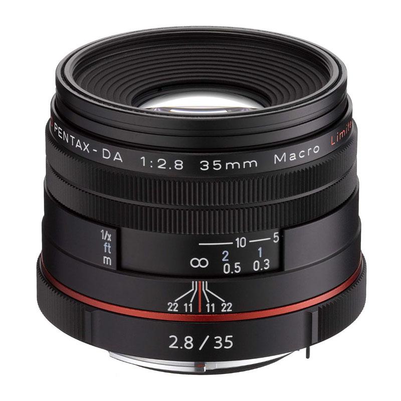 【4月12日20:00-16日1:59 カード決済でポイント9倍!】PENTAX (ペンタックス) HD PENTAX-DA 35mm F2.8 Macro Limited ブラック 標準マクロレンズ