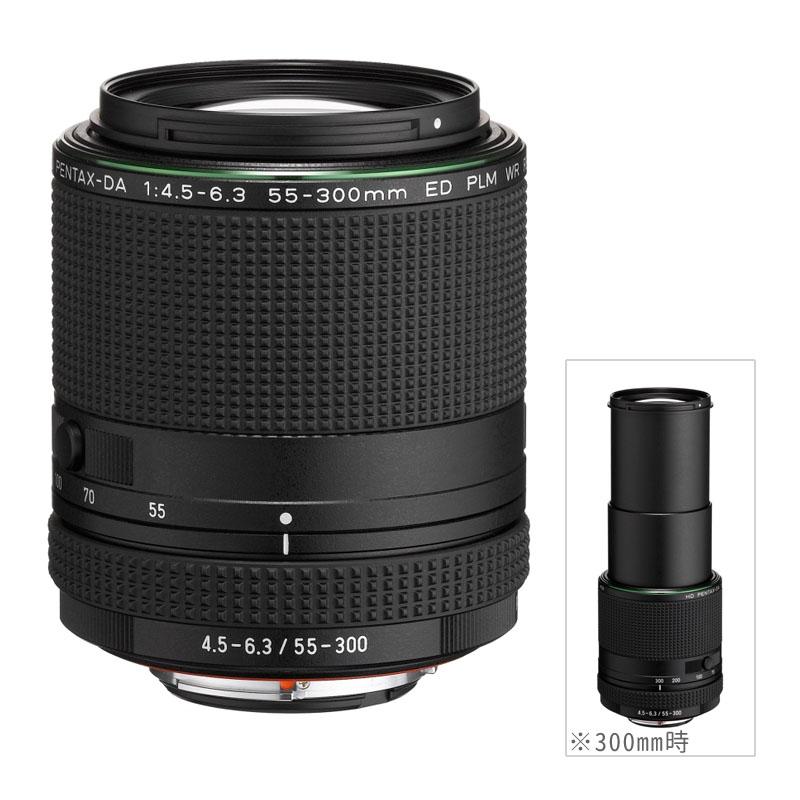 【キャッシュレス5%還元対象店】PENTAX (ペンタックス) HD PENTAX-DA 55-300mmF4.5-6.3ED PLM WR RE 望遠ズームレンズ