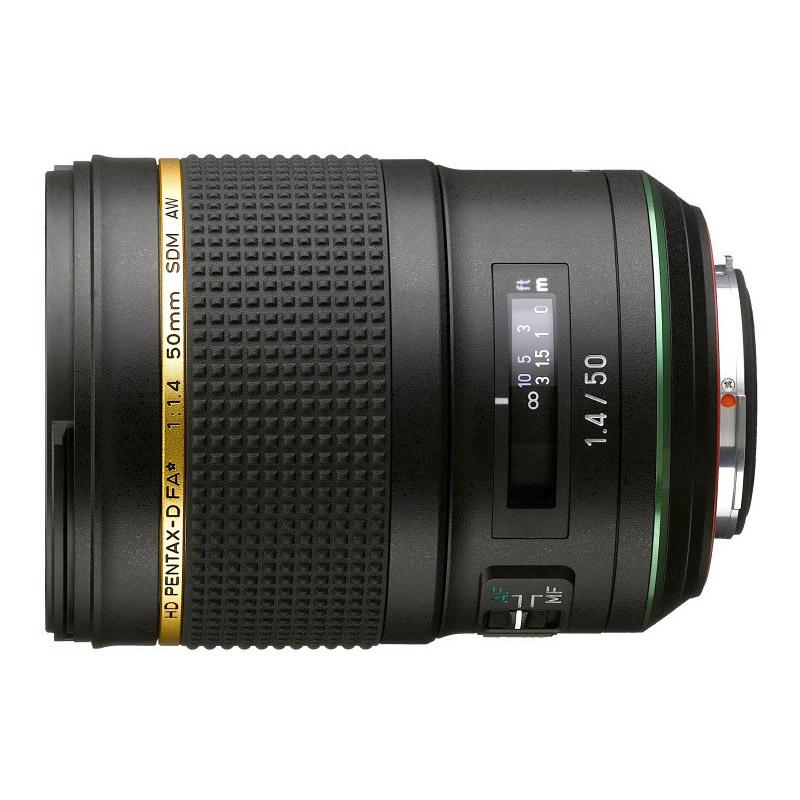 【キャッシュレス5%還元対象店】PENTAX (ペンタックス) HD PENTAX-D FA★50mmF1.4 SDM AW