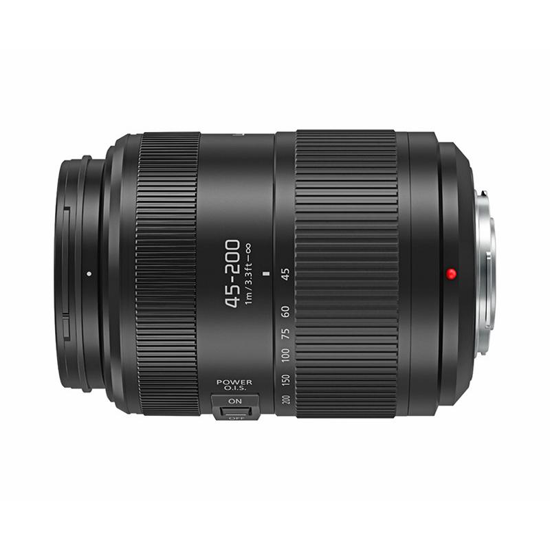 Panasonic パナソニック LUMIX G VARIO 45-200mm/F4.0-5.6 II/POWER O.I.S. (H-FSA45200) 望遠ズームレンズ マイクロフォーサーズ用