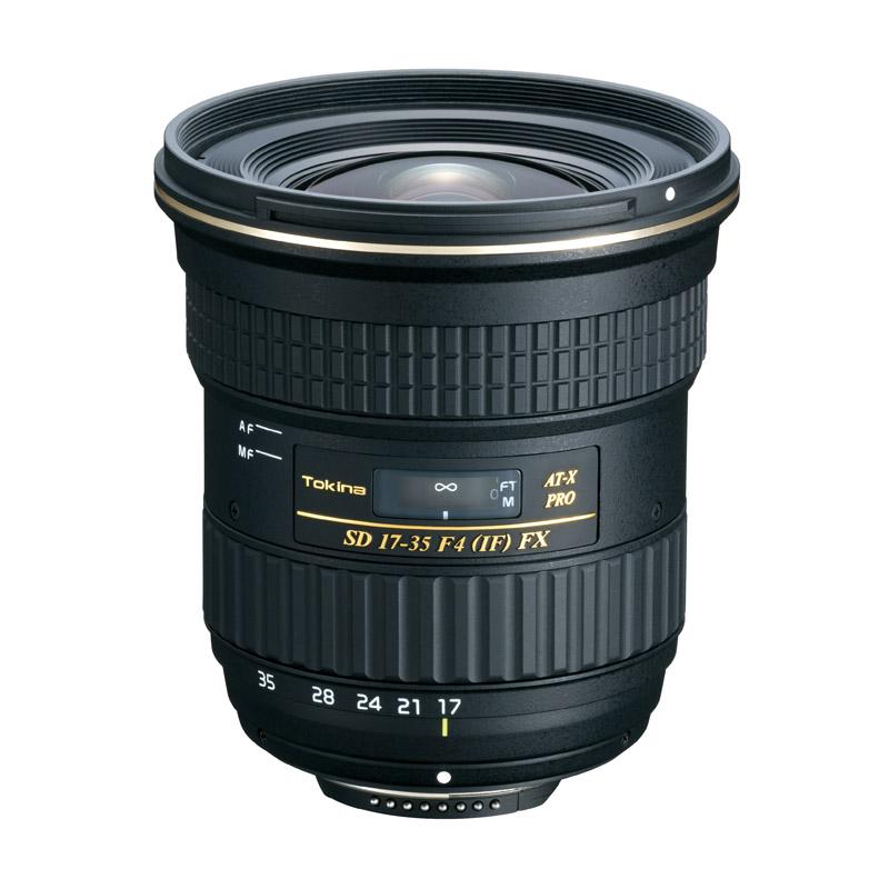 【4月12日20:00-16日1:59 カード決済でポイント9倍!】Tokinaトキナー ズームレンズ AT-X 17-35 F4 PRO FX 17-35mm F4 (IF) ASPHERICAL Nikon(ニコン)用