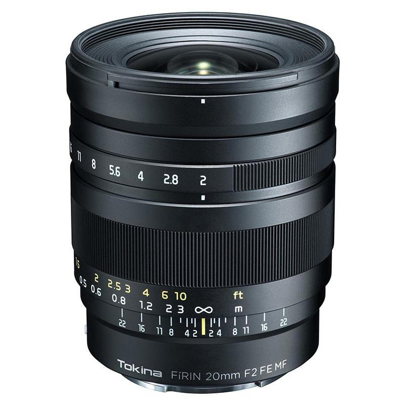 Tokinaトキナー 広角単焦点レンズ FiRIN 20mm F2 FE MF ソニーEマウント用 マニュアルフォーカス