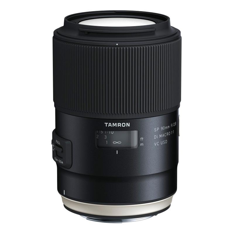TAMRON タムロン 単焦点望遠マクロレンズ SP 90mm F/2.8 Di MACRO 1:1 VC USD Canon(キヤノン)用 (F017)
