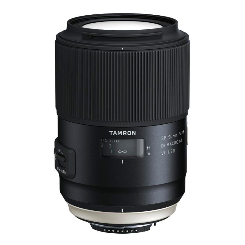 TAMRON タムロン 単焦点望遠マクロレンズ SP 90mm F/2.8 Di MACRO 1:1 VC USD Nikon(ニコン)用 (F017)