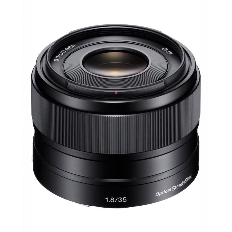 【キャッシュレス5%還元対象店】SONY ソニー 大口径・単焦点レンズ E 35mm F1.8 OSS SEL35F18 ミラーレス一眼カメラ用