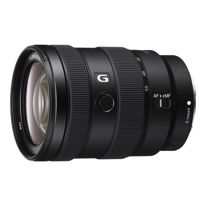 【キャッシュレス5%還元対象店】SONY ソニー APS-C標準ズームレンズ E 16-55mm F2.8 G SEL1655G ミラーレス一眼カメラ用