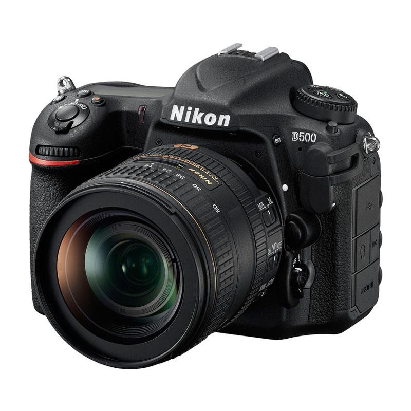 【4月12日20:00-16日1:59 カード決済でポイント9倍!】Nikon ニコン デジタル一眼レフカメラ D500 16-80VR レンズキット