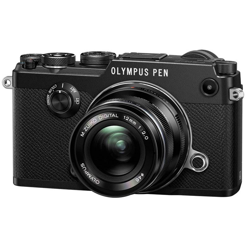 OLYMPUS オリンパス ミラーレス一眼カメラ PEN-F 12mm F2.0レンズキット ブラック