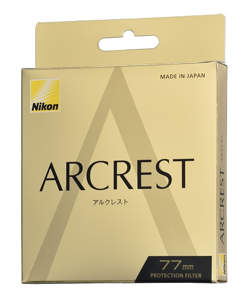Nikon ニコン 77mm ARCREST アルクレスト PROTECTION FILTER 高性能レンズ保護フィルター