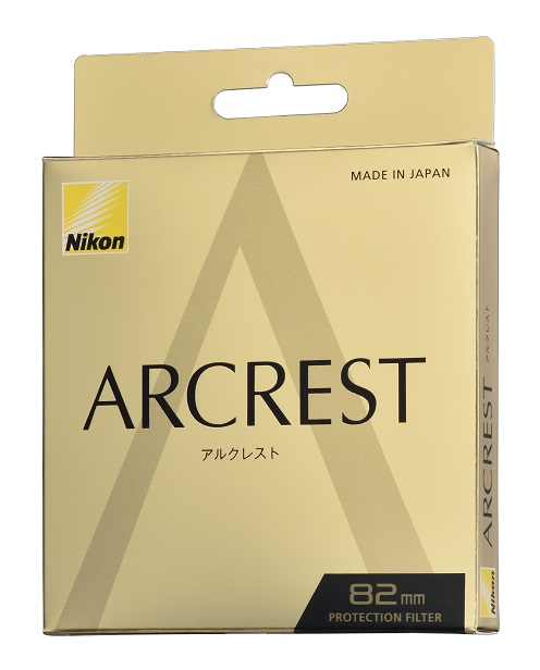 Nikon ニコン 82mm ARCREST アルクレスト PROTECTION FILTER 高性能レンズ保護フィルター