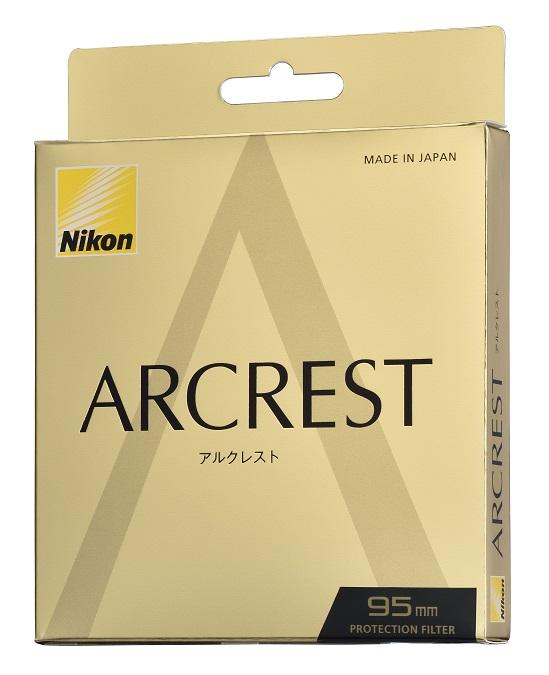 【6月1日0:00-6月1日23:59エントリー&カード決済でポイント8倍!】Nikon ニコン 95mm ARCREST アルクレスト PROTECTION FILTER 高性能レンズ保護フィルター