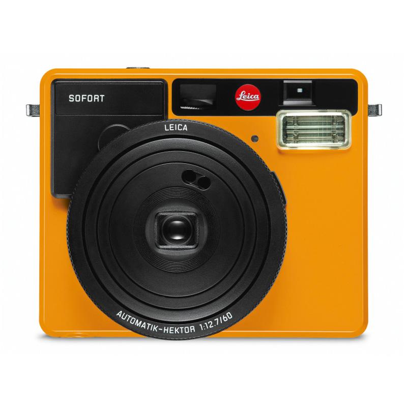 ライカ (Leica) インスタントカメラ ゾフォート SOFORT オレンジ (19102) instax mini フィルム使用