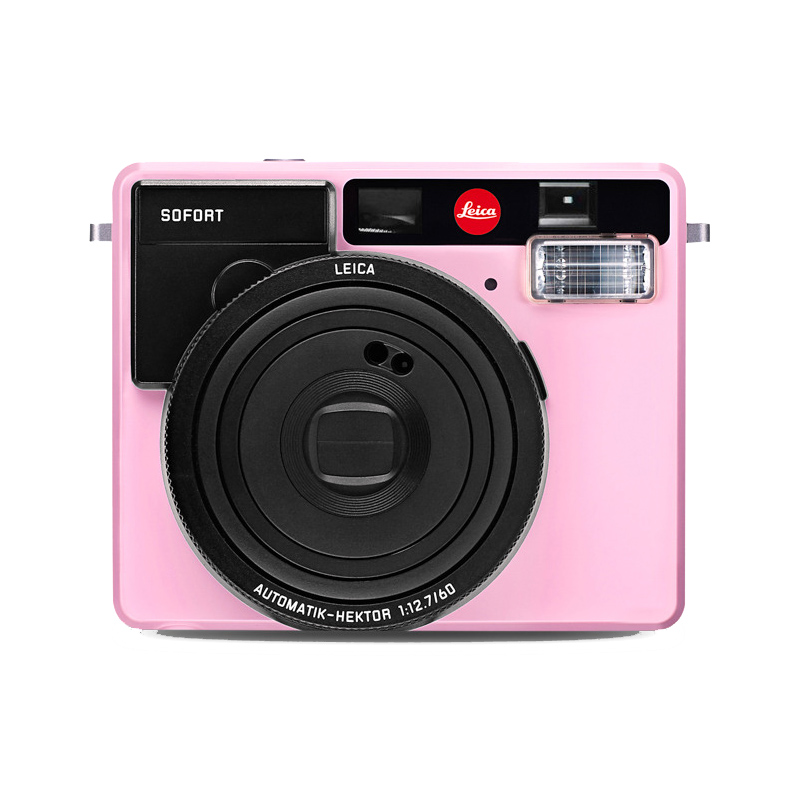 【6月1日0:00-6月1日23:59エントリー&カード決済でポイント8倍!】ライカ (Leica) インスタントカメラ ゾフォート SOFORT ピンク (19110) instax mini フィルム使用