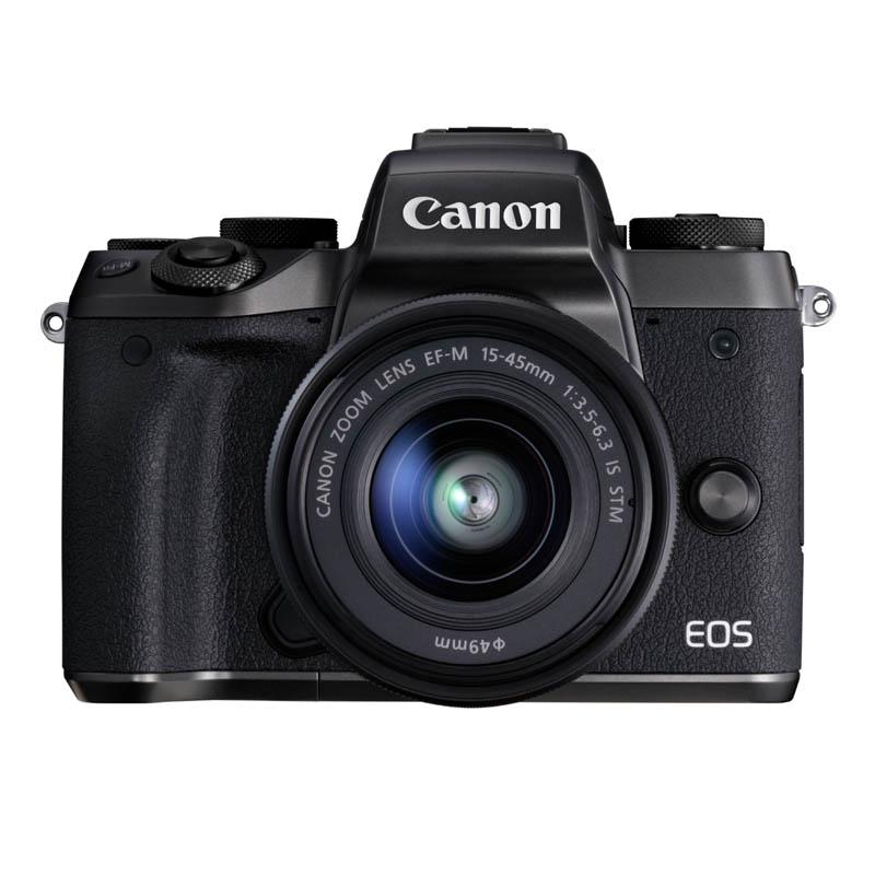 【7月21日20:00-7月26日1:59エントリー&カード決済でポイント最大7倍!】Canon キヤノン ミラーレス一眼カメラ EOS M5 EF-M15-45 IS STMレンズキット