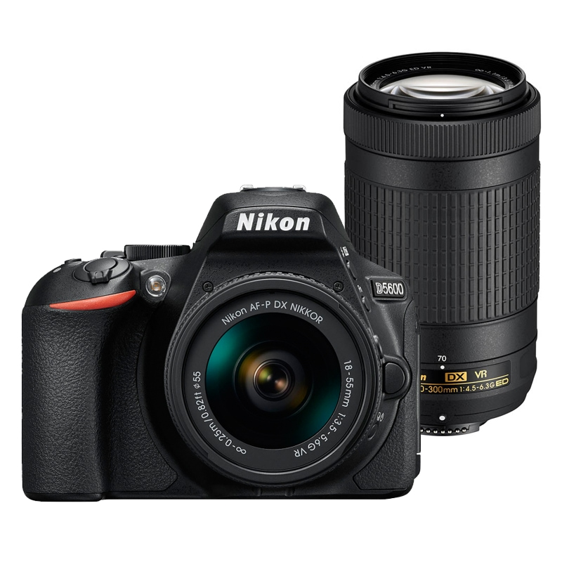 Nikon ニコン デジタル一眼レフカメラ D5600 ダブルズームキット