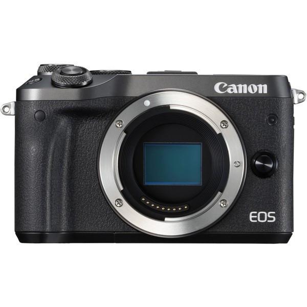 Canon キヤノン ミラーレス一眼カメラ EOS M6 ボディブラック