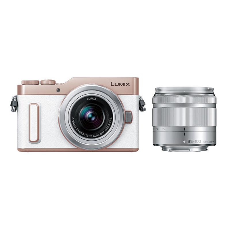 【キャッシュレス5%還元対象店】Panasonic LUMIX GF10 ダブルズームレンズキット ホワイト (DC-GF10WA-W) ミラーレス一眼カメラ