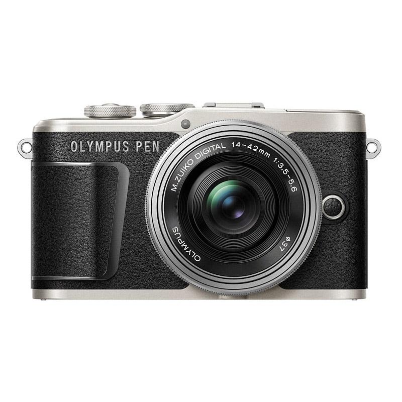 OLYMPUS オリンパス ミラーレス一眼カメラ PEN E-PL9 14-42mm EZ レンズキット ブラック