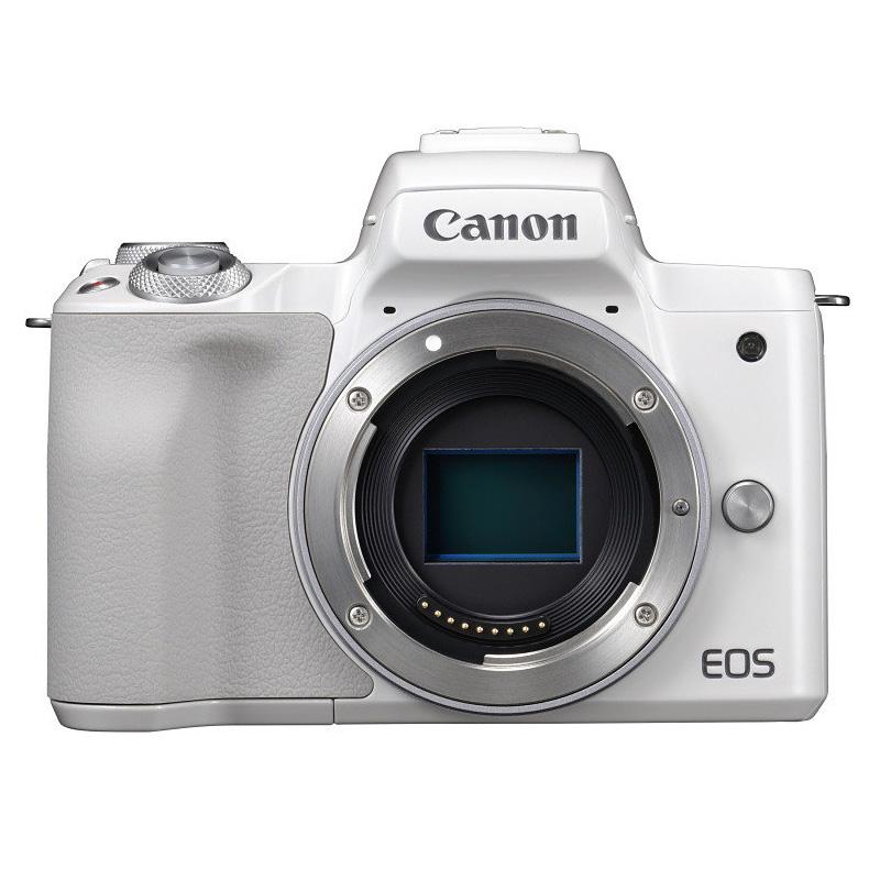 【キャッシュレス5%還元対象店】Canon キヤノン ミラーレス一眼カメラ EOS Kiss M ボディ ホワイト