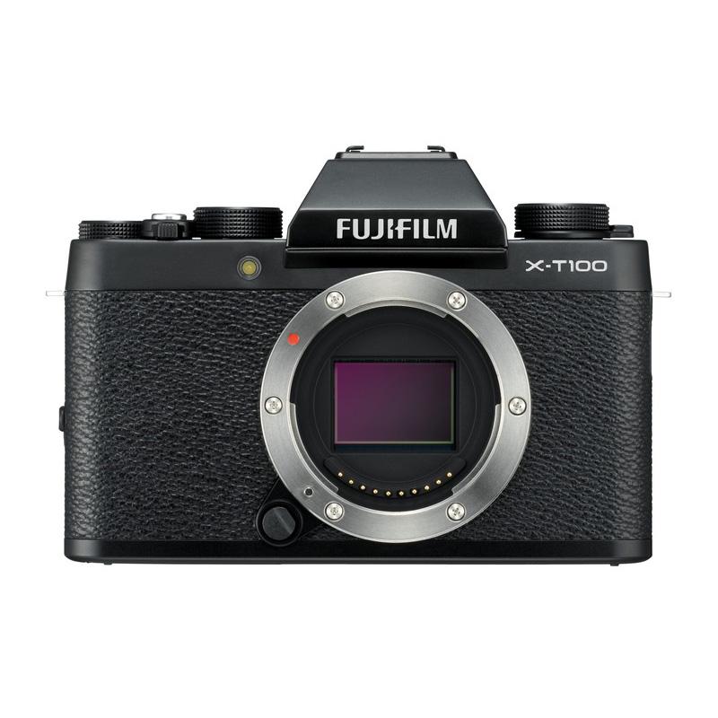 【キャッシュレス5%還元対象店】FUJIFILM フジフイルム ミラーレス一眼カメラ X-T100 ボディ ブラック