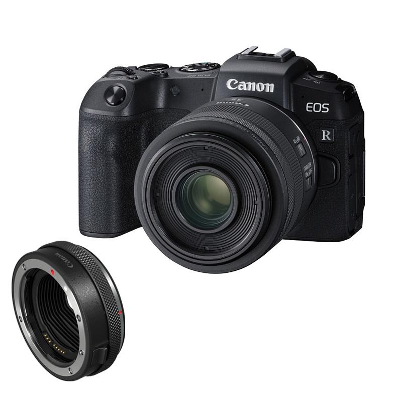Canon キヤノン ミラーレス一眼カメラ EOS RP RF35 MACRO IS STM マウントアダプターキット ブラック