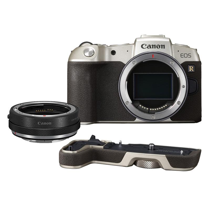 【キャッシュレス5%還元対象店】Canon キヤノン ミラーレス一眼カメラ EOS RP ゴールド マウントアダプターSPキット