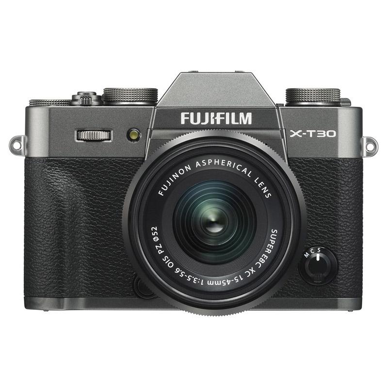 【キャッシュレス5%還元対象店】FUJIFILM フジフイルム ミラーレス一眼カメラ X-T30 XC15-45mm レンズキット チャコールシルバー
