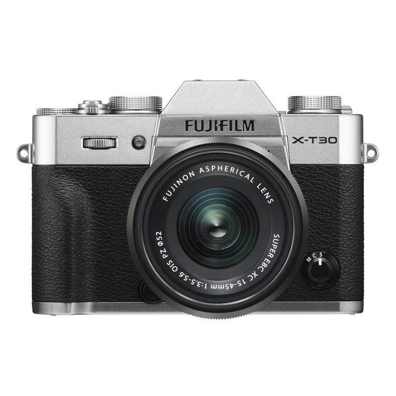 【6月1日0:00-6月1日23:59エントリー&カード決済でポイント8倍!】FUJIFILM フジフイルム ミラーレス一眼カメラ X-T30 XC15-45mm レンズキット シルバー