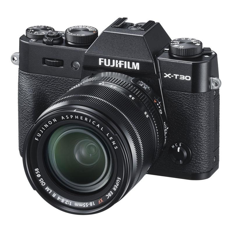 FUJIFILM フジフイルム ミラーレス一眼カメラ X-T30 XF18-55mm レンズキット ブラック