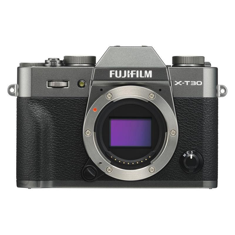 【キャッシュレス5%還元対象店】FUJIFILM フジフイルム ミラーレス一眼カメラ X-T30 チャコールシルバー ボディ