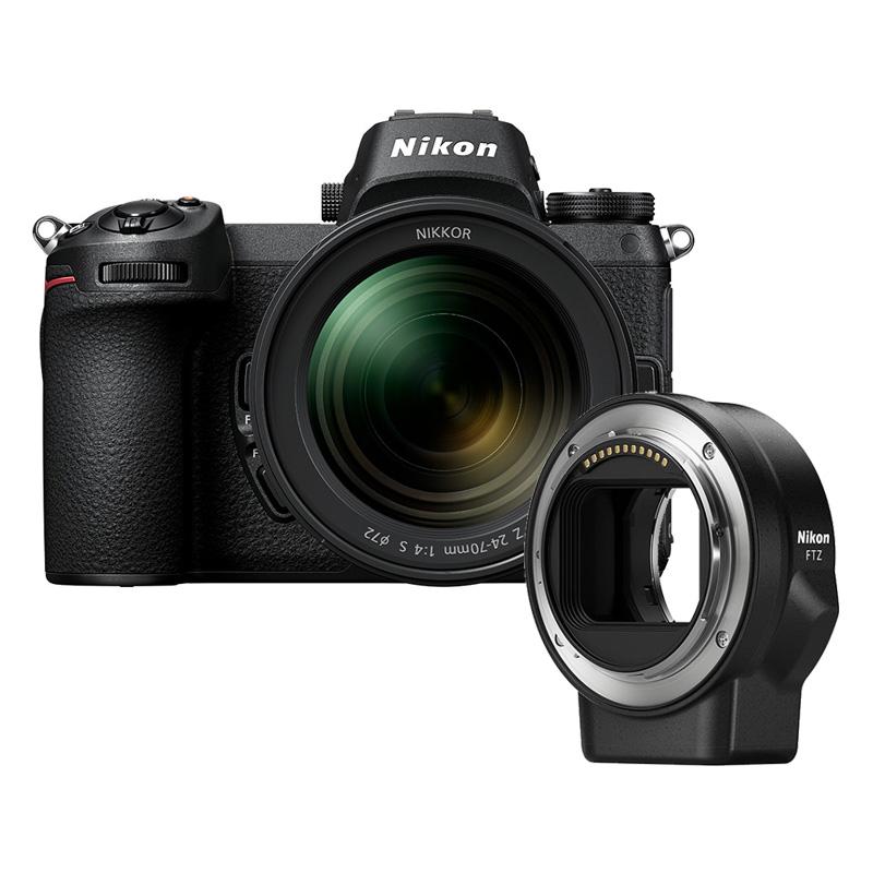 【4月12日20:00-16日1:59 カード決済でポイント9倍!】Nikon ニコン ミラーレス一眼カメラ Z6 24-70+FTZマウントアダプターキット