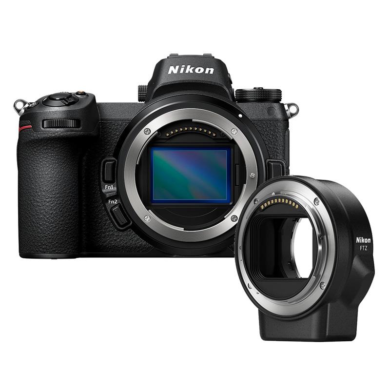 【4月12日20:00-16日1:59 カード決済でポイント9倍!】Nikon ニコン ミラーレス一眼カメラ Z6 FTZマウントアダプターキット