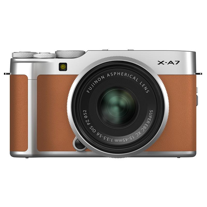 【キャッシュレス5%還元対象店】FUJIFILM フジフイルム ミラーレス一眼カメラ X-A7 レンズキット キャメル
