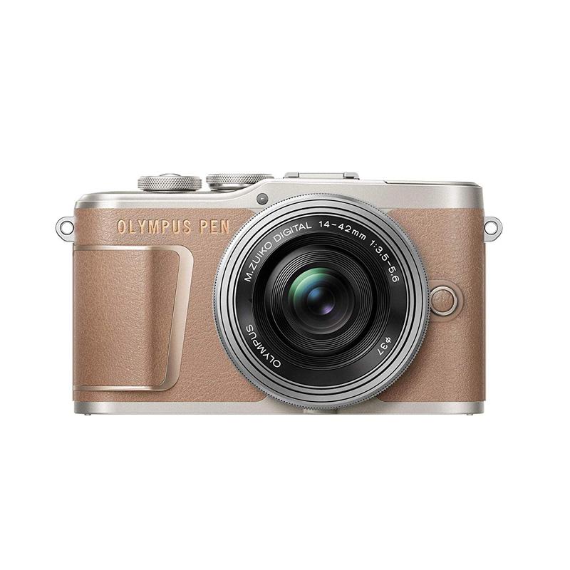 【キャッシュレス5%還元対象店】OLYMPUS オリンパス ミラーレス一眼カメラ PEN E-PL10 14-42mm EZ レンズキット ブラウン