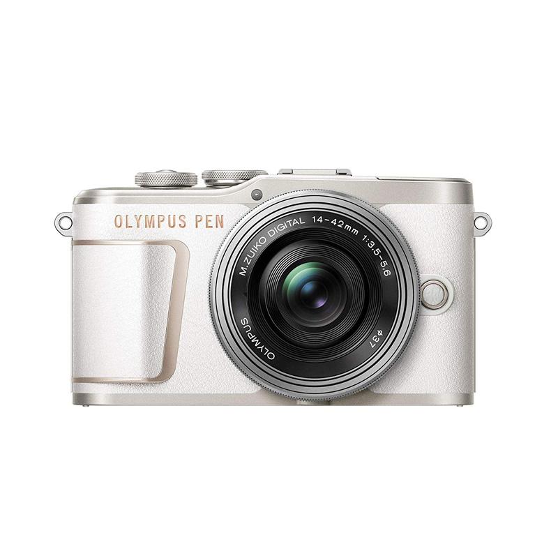 【キャッシュレス5%還元対象店】OLYMPUS オリンパス ミラーレス一眼カメラ PEN E-PL10 14-42mm EZ レンズキット ホワイト