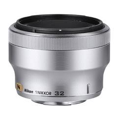 ニコン 1 NIKKOR 32mm f/1.2 シルバー【メーカー取寄せ品】