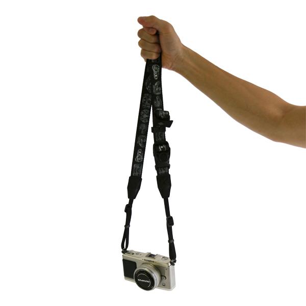 【NEW】 新柄ブラックカモ追加! USA製柄テープ4種 / diagnl(ダイアグナル) Ninja Camera Strap 25mm幅 【5,000円(税抜)以上のご購入で】ミラーレス コンデジ カメラストラップ ショルダーストラップ 斜めがけ カモフラ 長さ調節