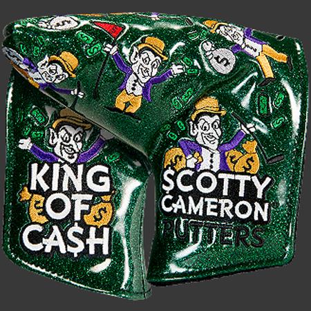 スコッティキャメロン ヘッドカバー カスタムショップ KING OF CASH ( ミッドマレッド )