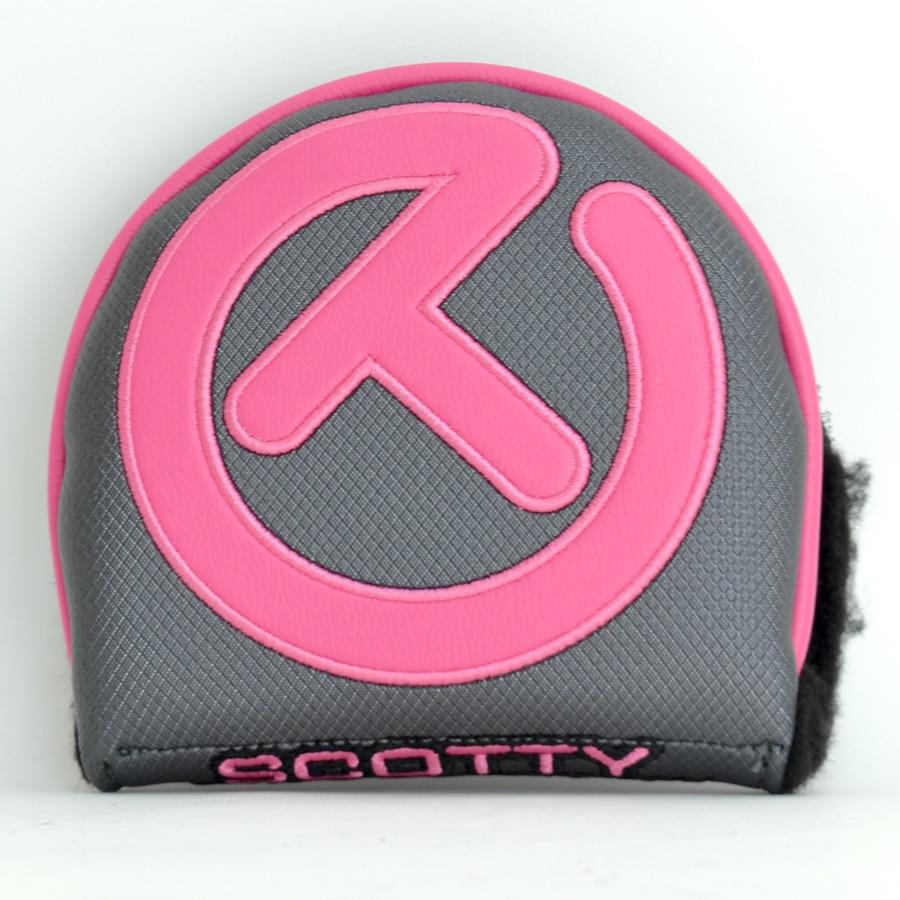 スコッティキャメロン サークルT ヘッドカバー インダストリアル ( ピンク×グレイ ) X5 / X7