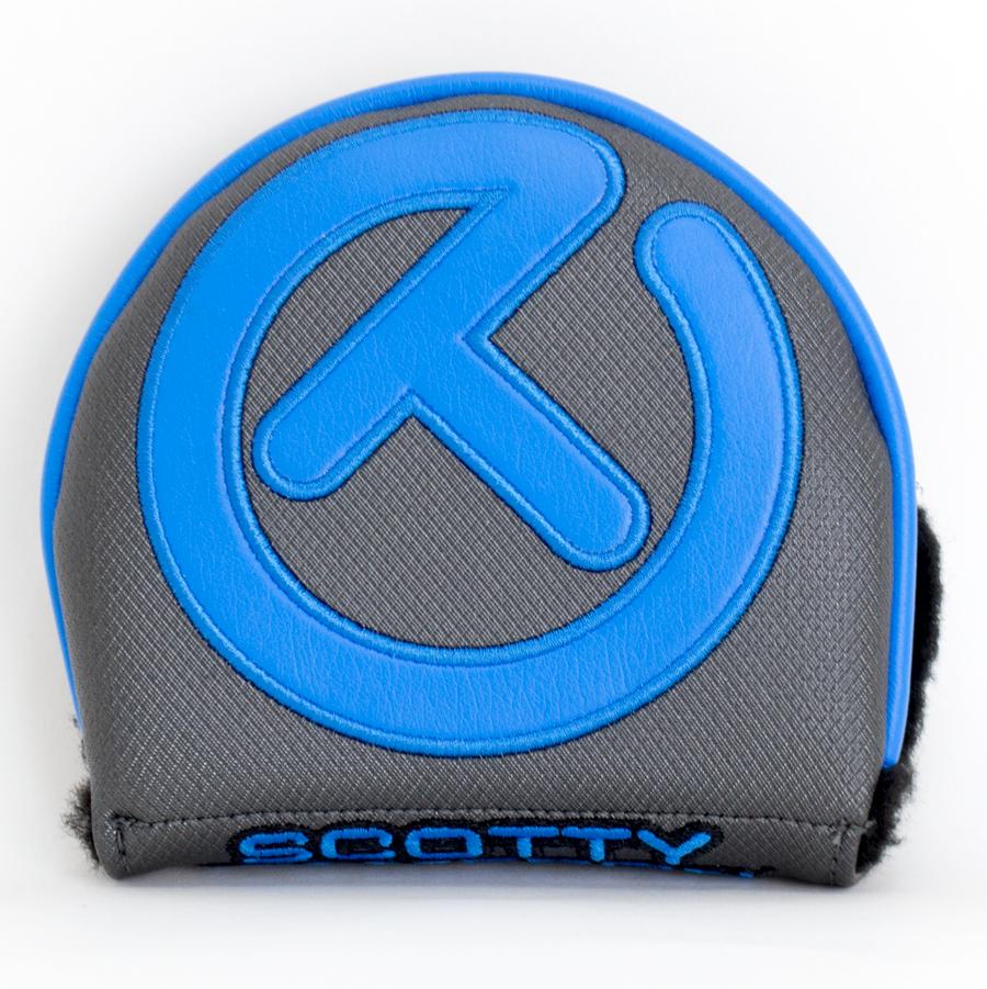 スコッティキャメロン サークルT ヘッドカバー インダストリアル ( ブルー×グレイ ) X5 / X7
