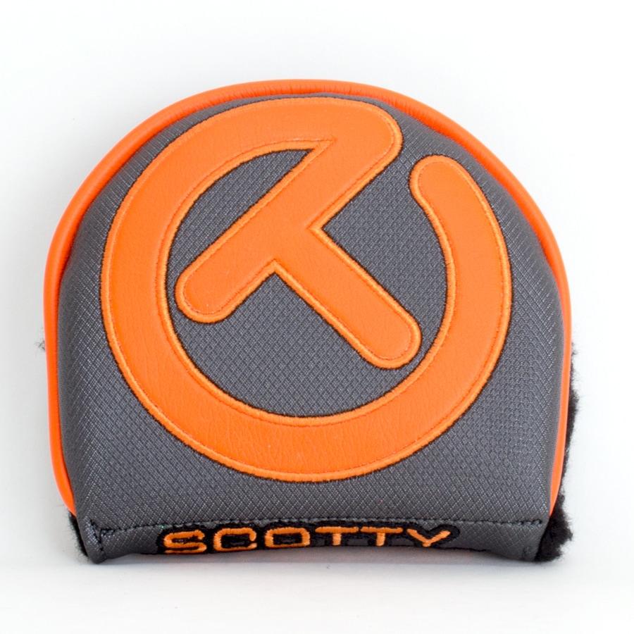スコッティキャメロン サークルT ヘッドカバー インダストリアル ( オレンジ×グレイ ) X5 / X7