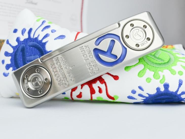 100 %品質保証 スコッティキャメロン Tour Concept 1 GSS Inlay Translucent blue, CREVASSE クルバス 82fd6adc