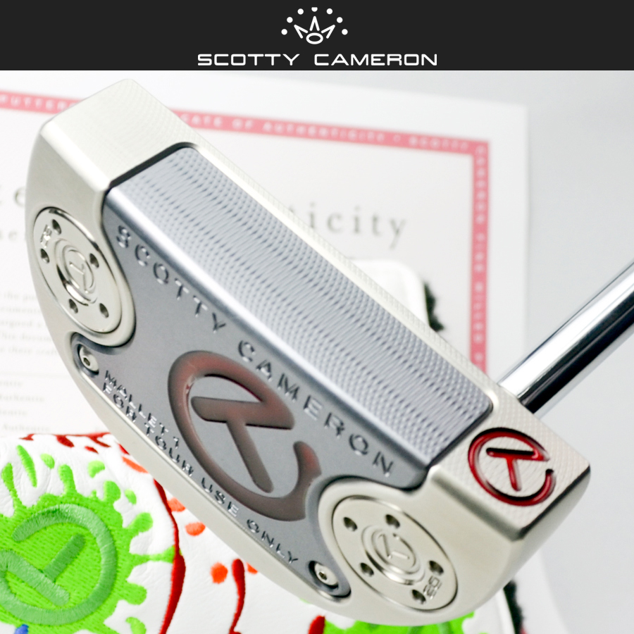Scottie Cameron tour putter Tour Mallet 1 SSS with 20 g circle T sole  weight NONE POPUP