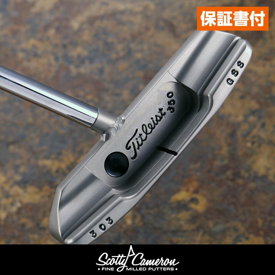 【送料無料・保証書付】 スコッティキャメロン ツアーパター ニューポート 2 GSS 溶接センターネック rare vertical stamping 350g Head & tri sole