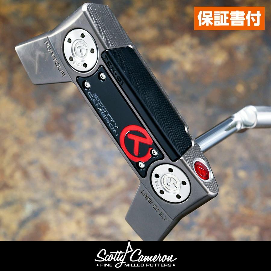 スコッティキャメロン ツアーパター コンセプトX-01 ツアーガングレイフィニッシュ フランジライン 20gサークルTウェイト