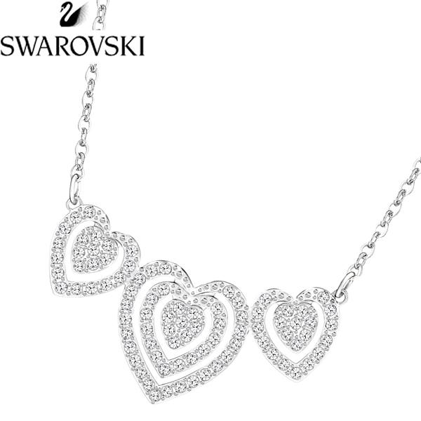【感謝SALE】【送料無料】SWAROVSKI スワロフスキー レディース ネックレス ペンダント ハート 5228773