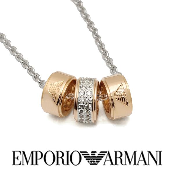 【送料無料】EMPORIO ARMANI エンポリオ アルマーニ レディース ネックレス アクセサリー ジュエリー eg3045040